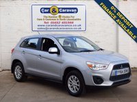 USED 2014 64 MITSUBISHI ASX 1.6 2 5d 115 BHP Full Dealer History Air Con 0% Deposit Finance Available