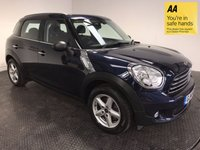 USED 2014 14 MINI COUNTRYMAN 1.6 ONE 5d 98 BHP FSH-BLUETOOTH-ALLOYS-A/C