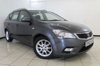 USED 2010 60 KIA CEED 1.6 2 SW CRDI 5DR 113 BHP SERVICE HISTORY + AIR CONDITIONING + MULTI FUNCTION WHEEL + AUXILIARY PORT + ELECTRIC WINDOWS + 16 INCH ALLOYS