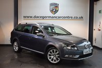 USED 2014 14 VOLKSWAGEN PASSAT 2.0 ALLTRACK TDI BLUEMOTION TECH 4MOTION DSG 5DR AUTO 175 BHP + FULL VW SERVICE HISTORY + SATELLITE NAVIGATION + BLUETOOTH + SPORT SEATS + DAB RADIO + CRUISE CONTROL + DAB RADIO + RAIN SENSORS + PARKING SENSORS + 18 INCH ALLOY WHEELS +