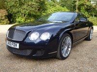 2010 BENTLEY CONTINENTAL 6.0 GT SPEED 2d AUTO 601 BHP £48000.00