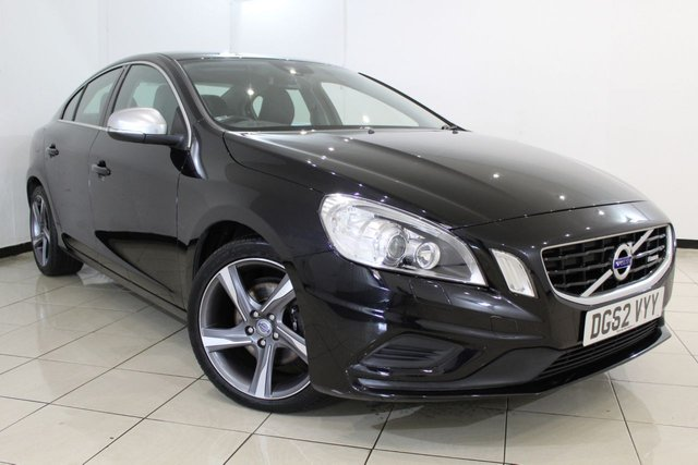 View our 2012 62 VOLVO S60 1.6 D2 R-DESIGN LUX 4DR AUTOMATIC 113 BHP