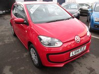 USED 2014 14 VOLKSWAGEN UP 1.0 MOVE UP 3d 59 BHP