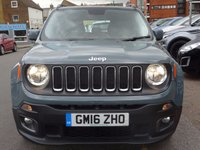 USED 2016 16 JEEP RENEGADE 1.4 LONGITUDE 5d AUTO 138 BHP