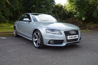 USED 2010 10 AUDI A4 2.0 TDI S LINE 4d 141 BHP BLACK EDITION