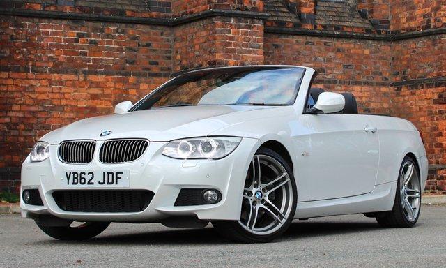 2013 62 BMW 3 SERIES 3.0 330D M SPORT 2d AUTO 242 BHP