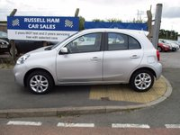 USED 2013 63 NISSAN MICRA 1.2 ACENTA 5d 79 BHP 3 Stamps Of Service History . 1 Former Keeper . Sat-Nav . Spare Key & Owners Book Pack . New Full Mot & Service Done On Collection . 2 Years FREE Mot & Full Services Deal Inclusive With This Car . 3 Month's Russell Ham Warranty . Credit Cards Accepted-Finance Arranged .
