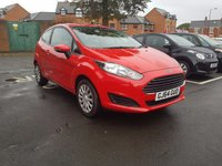 USED 2014 64 FORD FIESTA 1.2 STYLE 3d 59 BHP AUXILLIARY,USB ,MEDIA AND AIR CONDITIONING!!..EXCELLENT FUEL ECONOMY!!..LOW CO2 EMISSIONS..£30 ROAD TAX..FULL FORD HISTORY..ONLY 22951 MILES FROM NEW!!..WITH AIR CONDITIONING