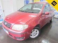 2003 FIAT PUNTO 1.2 8V DYNAMIC 3d 59 BHP £SOLD