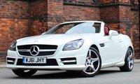 2011 MERCEDES-BENZ SLK 1.8 SLK200 BLUEEFFICIENCY AMG SPORT ED125 2d AUTO 184 BHP £16975.00
