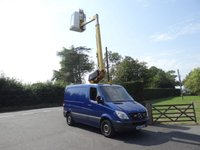 USED 2009 09 MERCEDES-BENZ SPRINTER 309 Swb 2.2Cdi 90Ps  Versalift Cherry Picker Elevating Platform Direct From Electric Authority