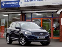 USED 2013 63 VOLVO XC60 2.0 D4 SE LUX NAV 5dr AUTO 161 BHP *ONLY 9.9% APR with FREE Servicing*