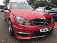 2011 MERCEDES-BENZ C CLASS 6.2 C63 AMG 4d AUTO 457 BHP WITH PERFORMANCE PACK £24124.00