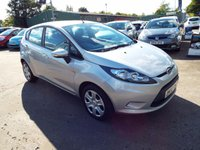 USED 2010 10 FORD FIESTA 1.2 EDGE 5d 81 BHP FULL SERVICE HISTORY