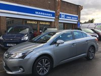 USED 2014 14 TOYOTA AVENSIS 2.2 D-CAT ICON 4d AUTO 150 BHP