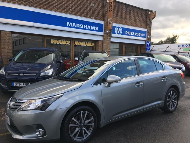2014 14 TOYOTA AVENSIS 2.2 D-CAT ICON 4d AUTO 150 BHP