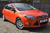 USED 2011 61 FORD FOCUS 1.6 TITANIUM TDCI 115 5d 114 BHP Free 12  month warranty