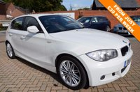 USED 2011 11 BMW 1 SERIES 2.0 118D M SPORT 5d 141 BHP - Full BMW Service History, Full Black Leather
