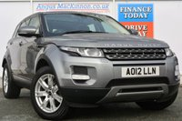 USED 2012 12 LAND ROVER RANGE ROVER EVOQUE 2.2 TD4 PURE TECH 5d 150 BHP ONE OWNER FROM NEW
