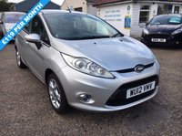 USED 2012 12 FORD FIESTA 1.2 ZETEC 5d 81 BHP FULL FORD SERVICE HISTORY