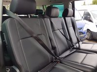 USED 2016 66 VOLKSWAGEN TRANSPORTER SHUTTLE 2.0 T32 TDI SHUTTLE SE BMT  AUTO 150  BHP + SAT NAV + FULL LEAHTER  ( VW SHUTTLE AUTO D.S.G 150 BHP T6 L.W.B  )