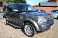 USED 2010 10 LAND ROVER DISCOVERY 3.0 4 TDV6 HSE 5d AUTO 245 BHP Full Leather, Full Service History