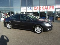 USED 2012 12 PEUGEOT 508 2.0 HDI ACTIVE 4d 140 BHP FREE 6 MONTHS RAC WARRANTY AND FREE 12 MONTHS RAC BREAKDOWN COVER