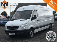 2013 MERCEDES-BENZ SPRINTER 2.1 313 CDI LWB BlueEFFICIENCY ECO  £6790.00