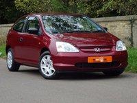 2002 HONDA CIVIC 1.6 i-VTEC S Hatchback 3dr £2995.00