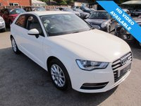 2014 AUDI A3 1.2 TFSI SE 3d 109 BHP 1 OWNER + VERY INSURABLE 1ST CAR £11899.00