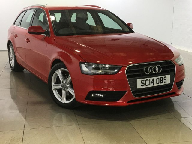 View our 2014 14 AUDI A4 2.0 TDI ULTRA SE TECHNIK 5d 161 BHP
