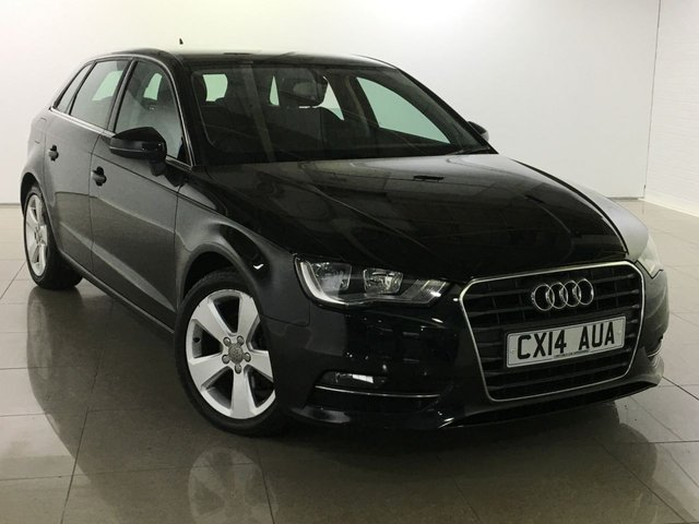 View our 2014 14 AUDI A3 2.0 TDI SPORT 5d 148 BHP