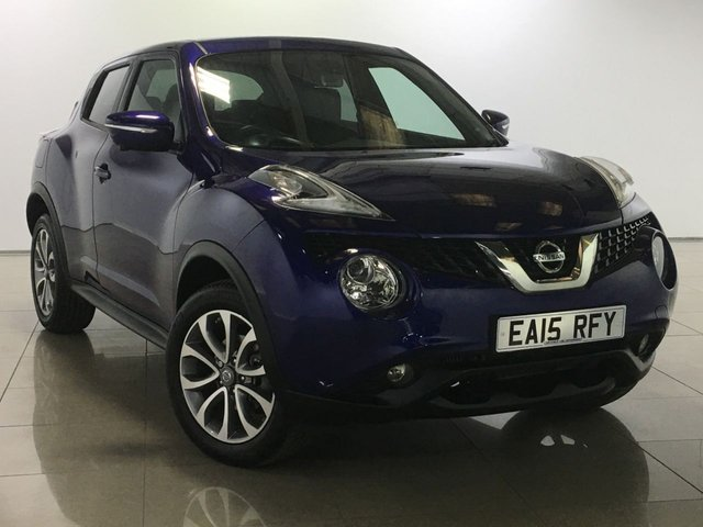 View our 2015 15 NISSAN JUKE 1.2 TEKNA DIG-T 5d 115 BHP