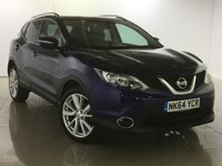 USED 2014 64 NISSAN QASHQAI 1.5 DCI TEKNA 5d 108 BHP One Owner From New/Huge Spec