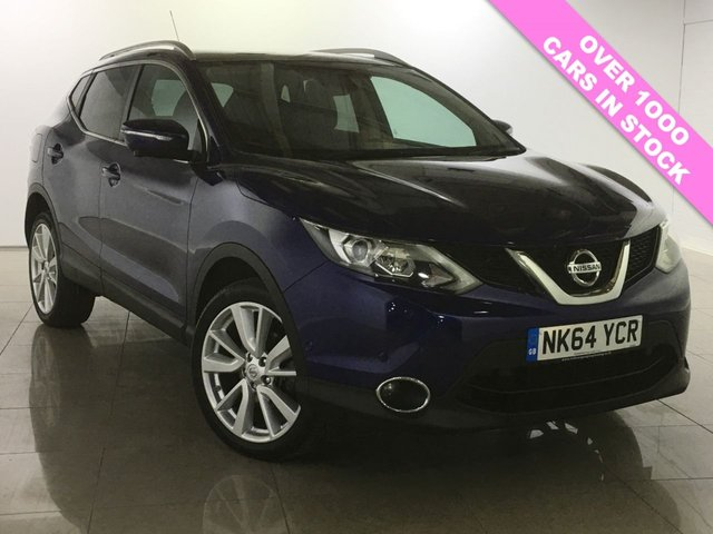 View our 2014 64 NISSAN QASHQAI 1.5 DCI TEKNA 5d 108 BHP