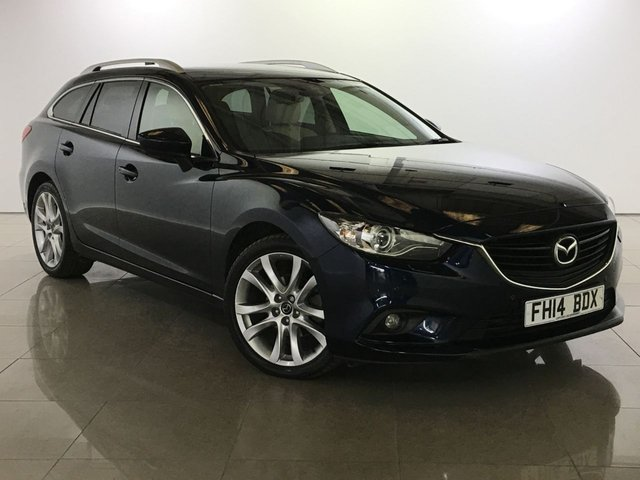View our 2014 14 MAZDA 6 2.2 D SPORT NAV 5d 148 BHP