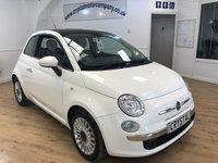 2012 FIAT 500 1.2 LOUNGE 3d 69 BHP £5495.00