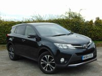 USED 2014 64 TOYOTA RAV4 2.0 D-4D ICON 5d  * FULL SERVICE HISTORY * 12 MONTHS AA BREAKDOWN COVER *