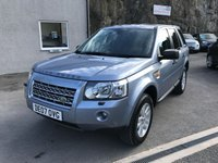USED 2007 07 LAND ROVER FREELANDER 2.2 TD4 XS 5d AUTO 159 BHP SOLD WITH 12 MONTHS MOT + SERVICE