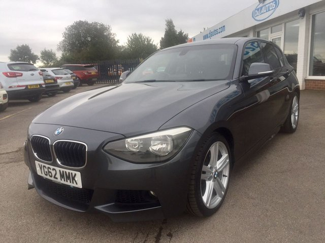 2012 62 BMW 1 SERIES 2.0 118D M SPORT 5d 141 BHP
