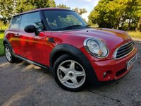 2010 MINI HATCH ONE 1.4 ONE 3d ALLOYS A/C & HISTORY £3450.00