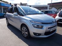 2014 CITROEN C4 PICASSO 1.6 GRAND E-HDI AIRDREAM EXCLUSIVE PLUS ETG6 5d AUTO 113 BHP £12750.00
