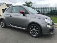2013 FIAT 500 1.2 S 3d 1 local owner ffsh 48000 miles very clean example  £4795.00