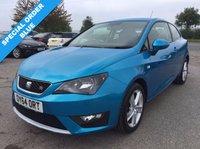 2014 SEAT IBIZA 1.2 TSI FR DSG 3d AUTO 104 BHP £7995.00