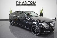 2012 MERCEDES-BENZ C CLASS 3.0 C350 CDI BLUEEFFICIENCY AMG SPORT PLUS 4d AUTO 262 BHP £17490.00