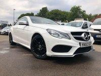 2013 MERCEDES-BENZ E CLASS 2.1 E220 CDI AMG SPORT 2d AUTO 170 BHP £14000.00