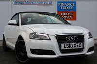 USED 2010 10 AUDI A3 1.6 TDI S LINE 2d 103 BHP GORGEOUS CONVERTIBLE