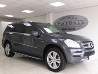 2011 MERCEDES-BENZ GL CLASS 3.0 GL350 CDI BLUEEFFICIENCY 5d AUTO 265 BHP £24500.00