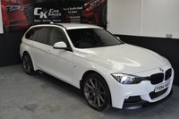 USED 2014 BMW 3 SERIES 2.0 320D XDRIVE M SPORT TOURING 5d AUTO 181 BHP
