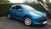 2007 PEUGEOT 207 1.4 S 3d 73 BHP *LOW MILEAGE* IDEAL FIRST CAR, ONLY 2 OWNERS FROM NEW £2695.00